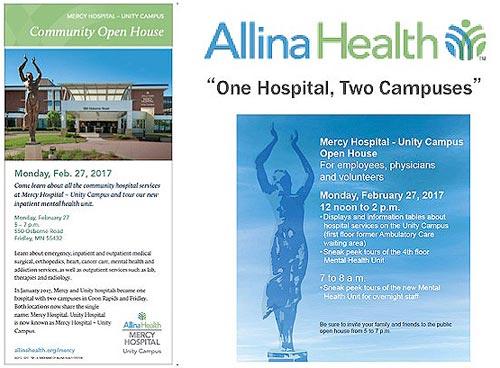 Mercy Hospital - Unity Campus community open house